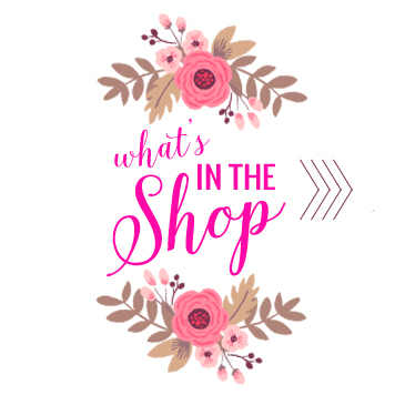 What's in the shop Holiday graphic