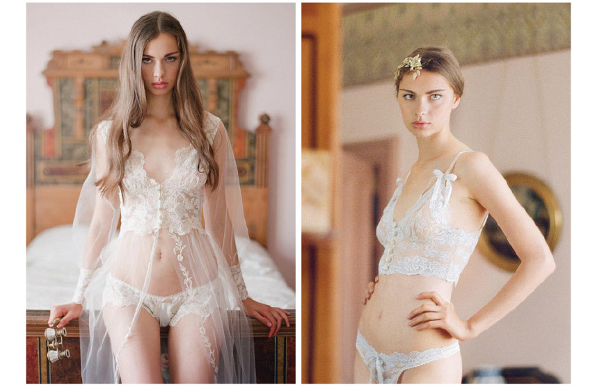 2d5f40f31 Claire Pettibone Heirloom Lingerie Collection