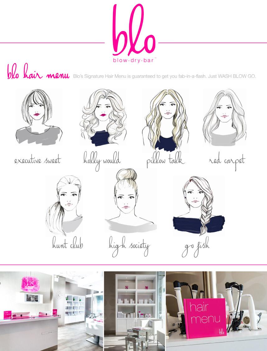 An inside look at blo austin s premier blow dry bar for Blo hair salon