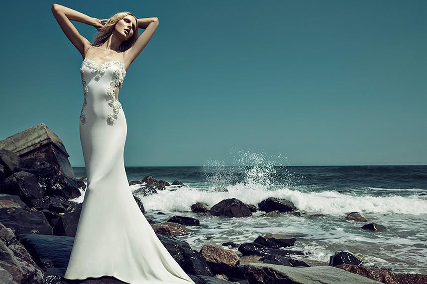 Badgley Mischka Spring 2015 Wedding Gown Collection