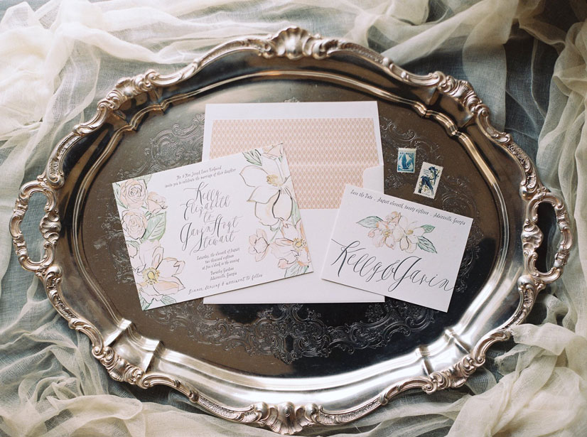 austin wedding invitations