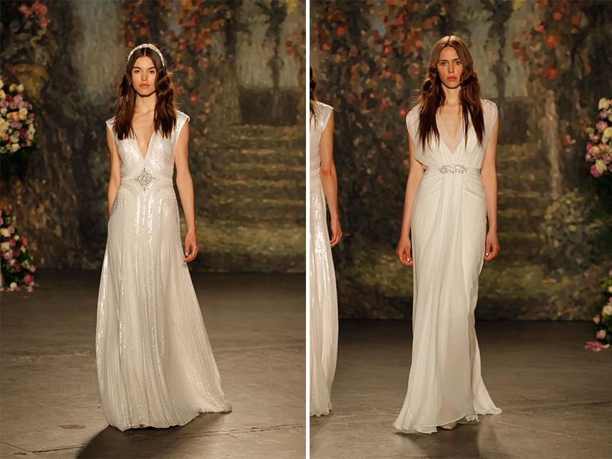 Jenny Packham Wedding Dress Spotlight | Spring 2016 Collection