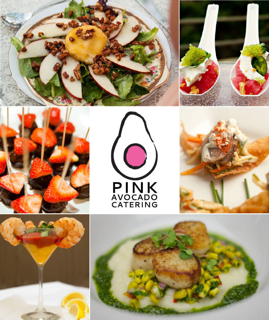 Austin wedding caterer Pink Avocado catering