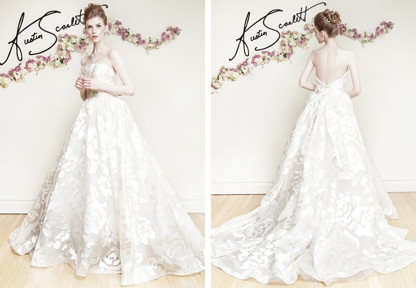 Austin Scarlett Wedding Dress Spotlight Spring 2016 Collection