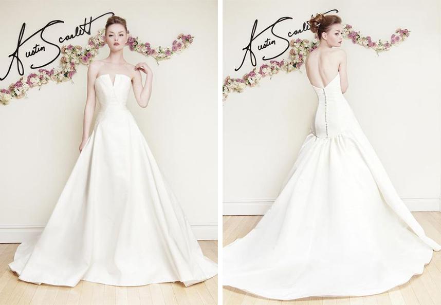 Austin Scarlett Wedding Dress Spotlight Spring 2016
