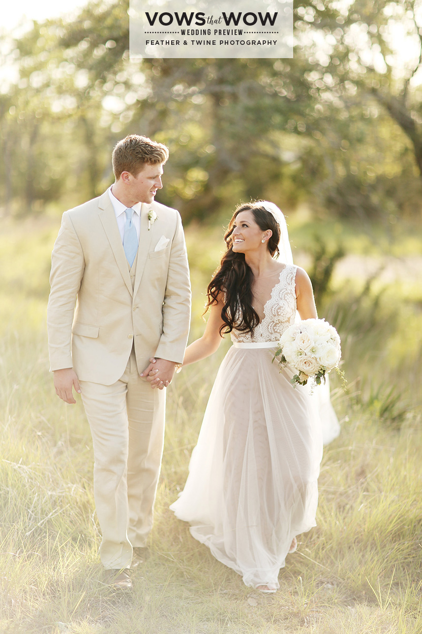rustic austin wedding