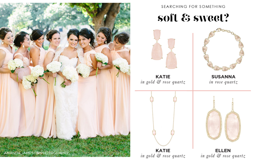 Customize Your Wedding Jewelry with the Kendra Scott Color Bar