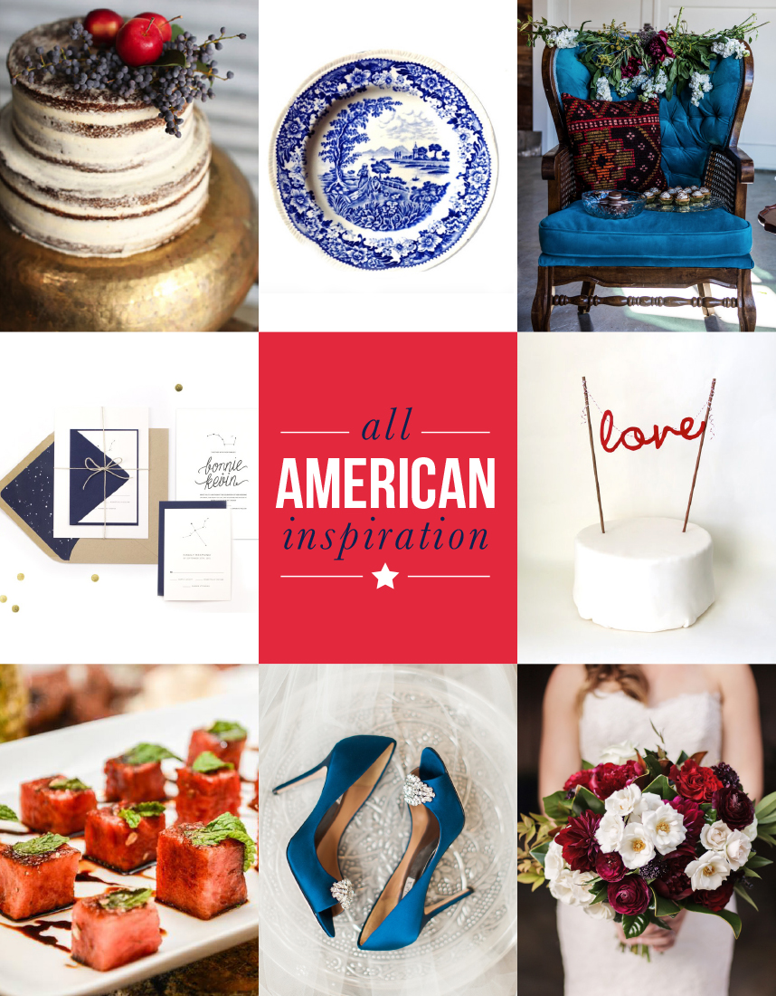 American wedding inspiration