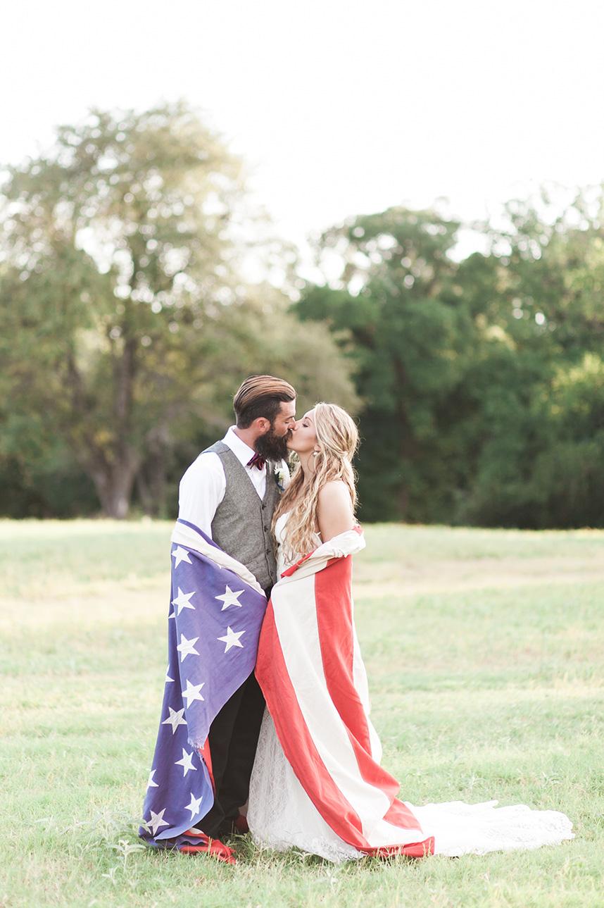 americana styled shoot