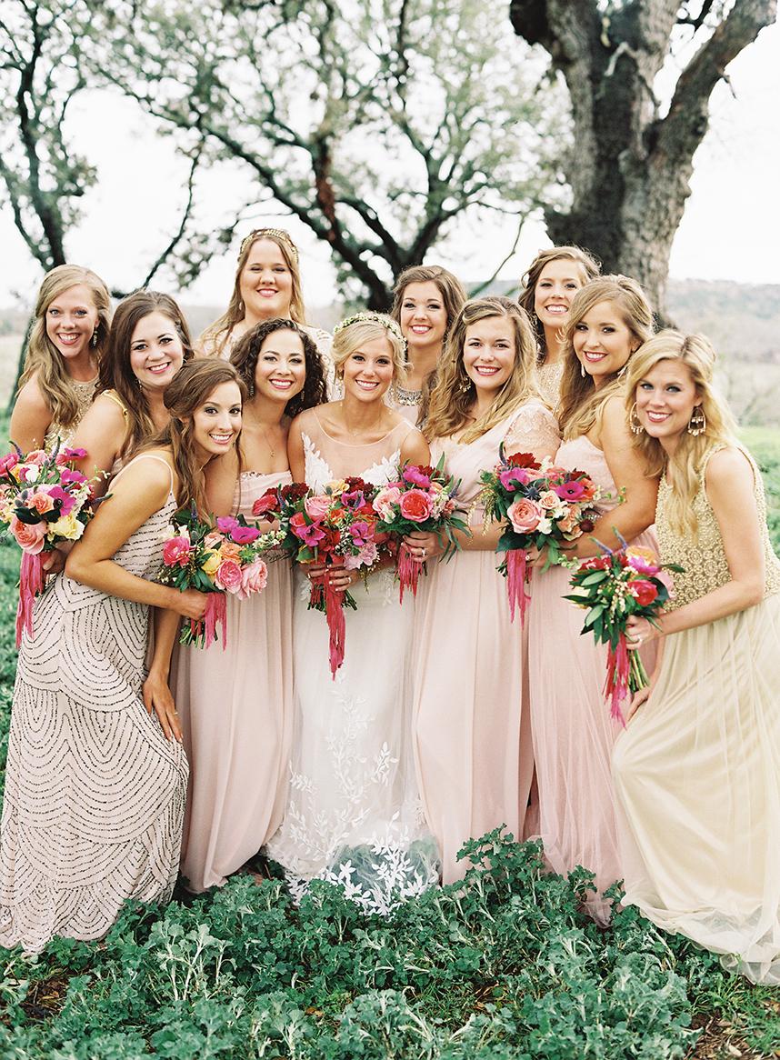 Boho glam austin wedding for Wedding dress rental austin tx