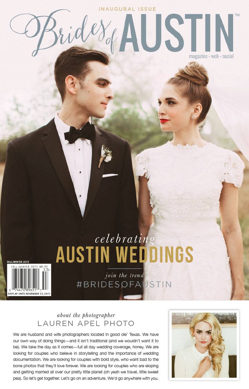 Brides of Austin cover