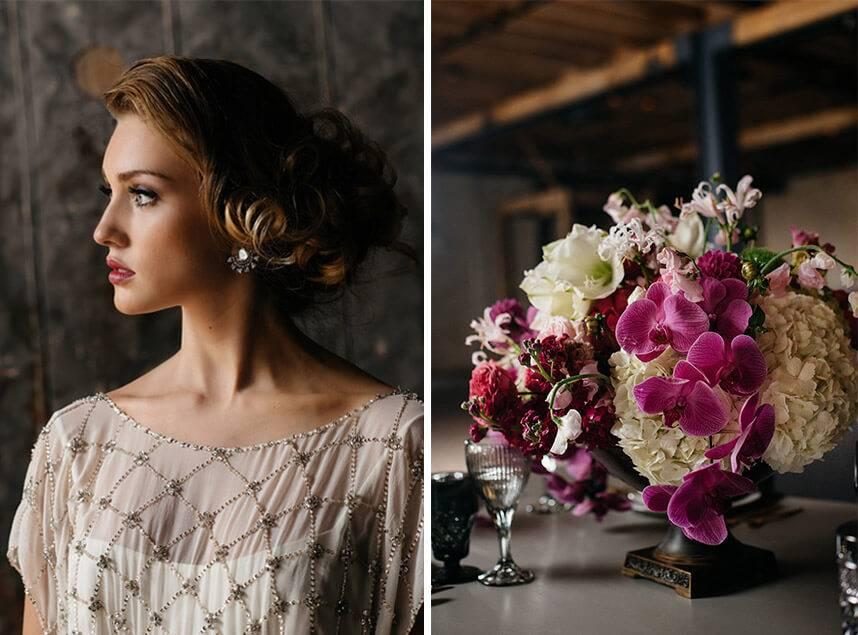 Hollywood Regency Wedding Dress