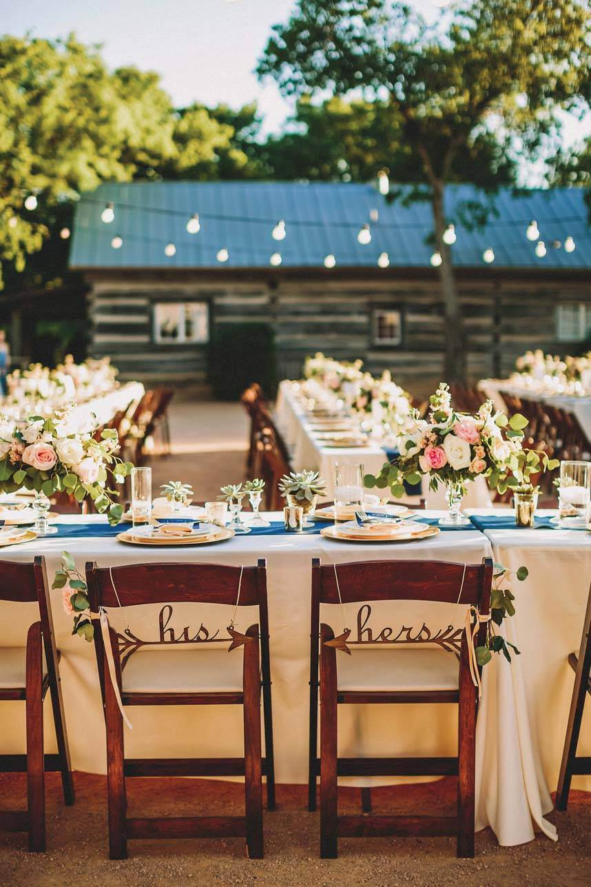 chair - rustic outdoor austin wedding