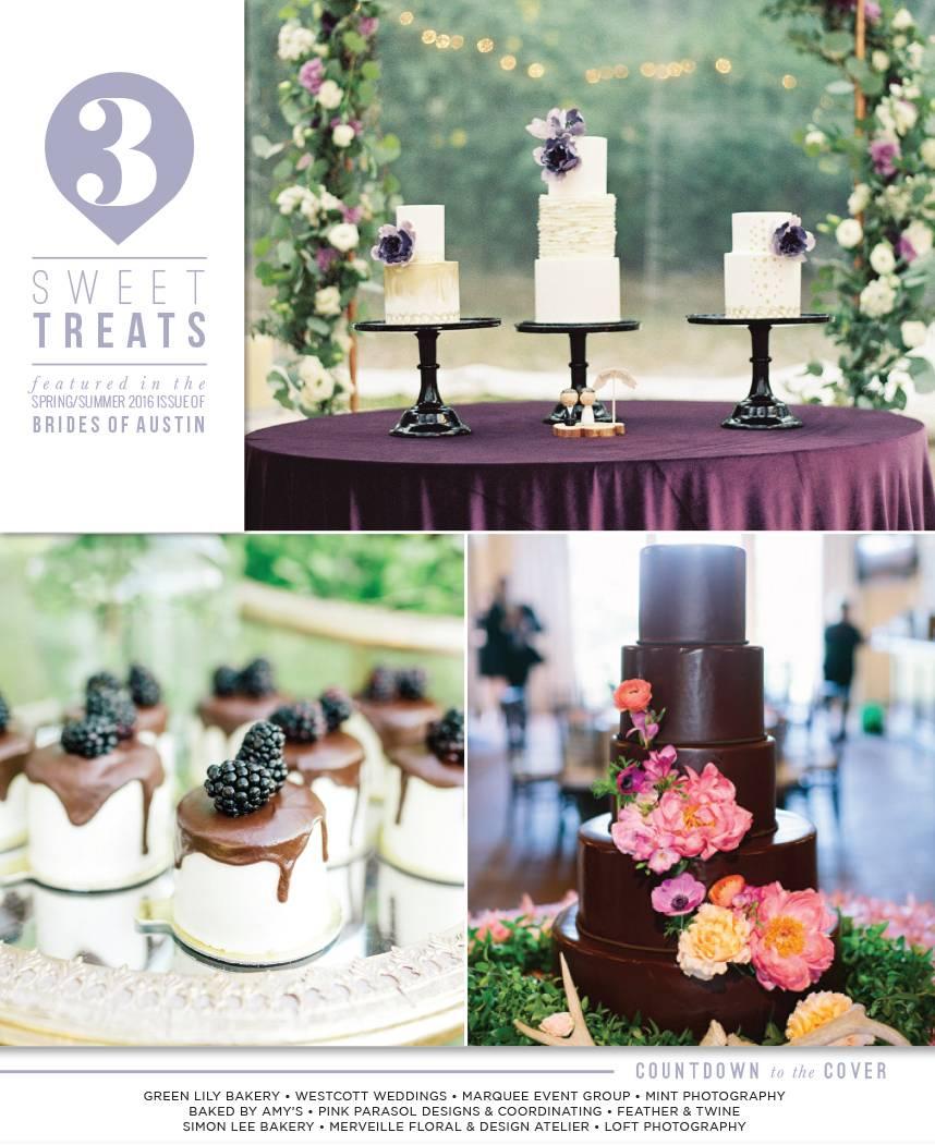 austin wedding cakes