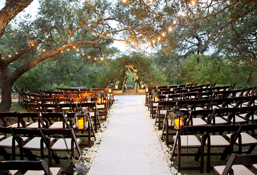 The Hill Countrys Most Relaxing Destination Wedding Venue The Retreat At Balcones Springs