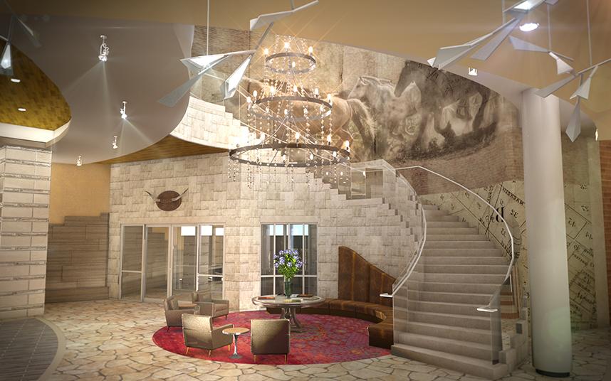 Archer Austin Grand Staircase