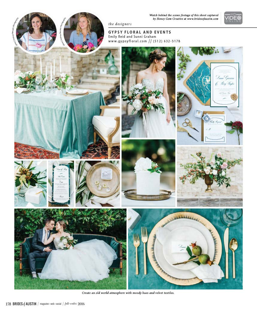 Gypsy Floral and Events - Austin Wedding Planner