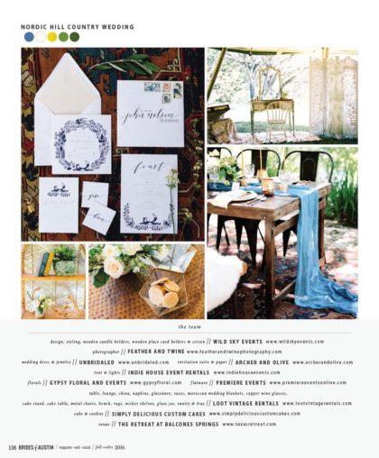 Austin Wedding Planner - Wild Sky Events