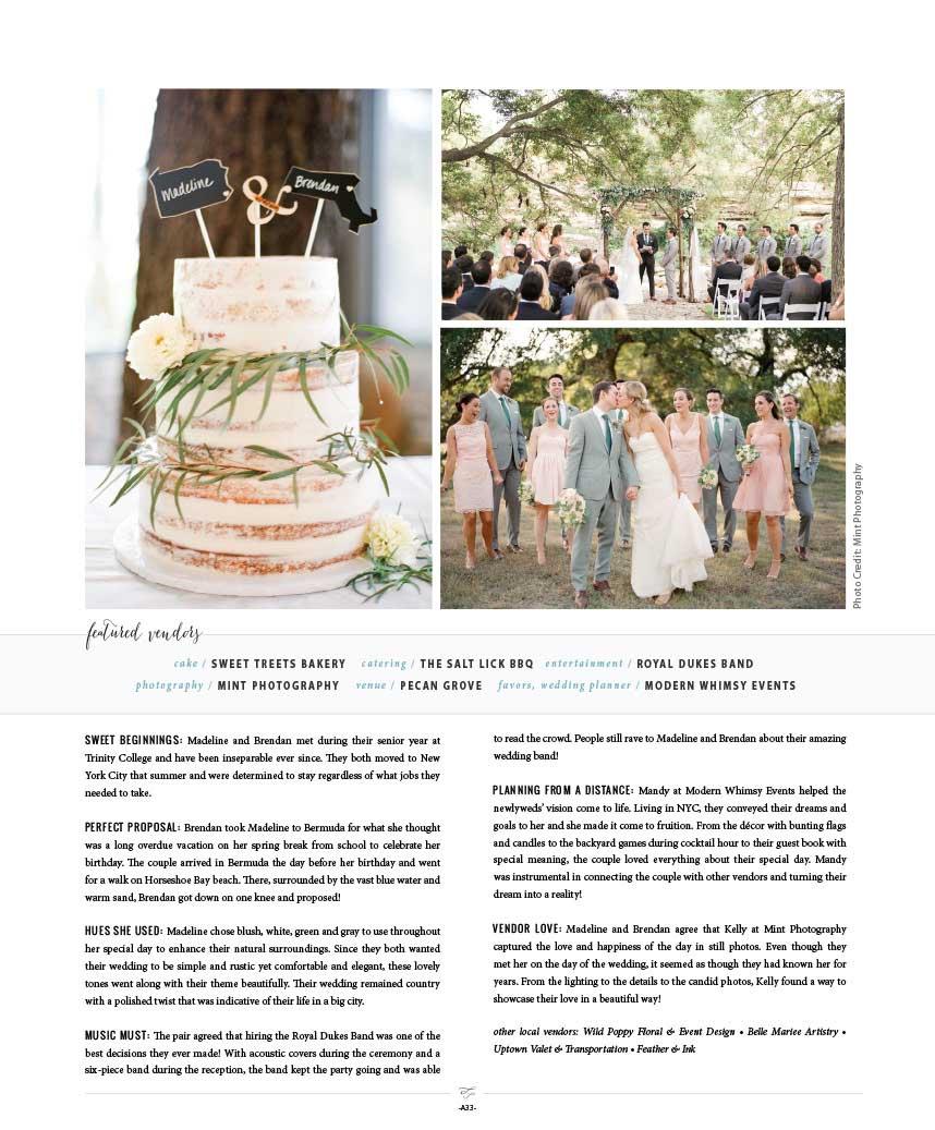 Dorable City Meets Country Wedding Theme Embellishment - The Wedding ...