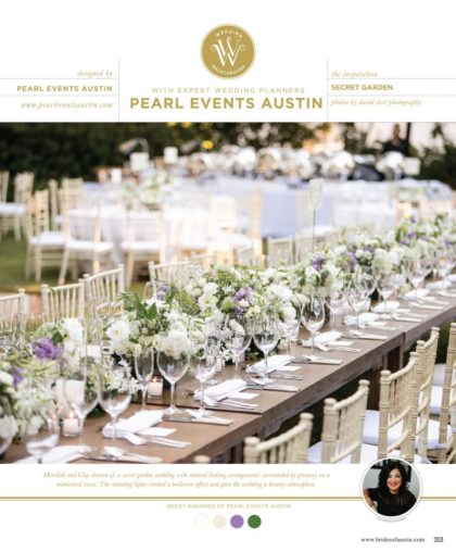 Austin Wedding Planner - Pearl Events Austin