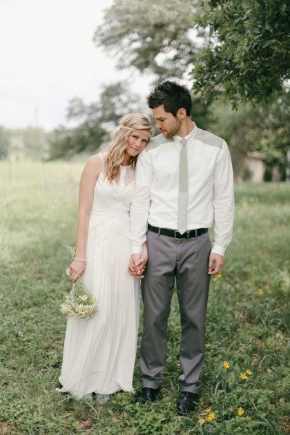 Lauren Thompson And Chase Daniels Minimalist Brunch Wedding At Pecan Grove