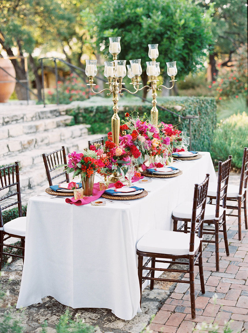 Colorful Spring Soiree by Kristin Ashley Weddings and Events