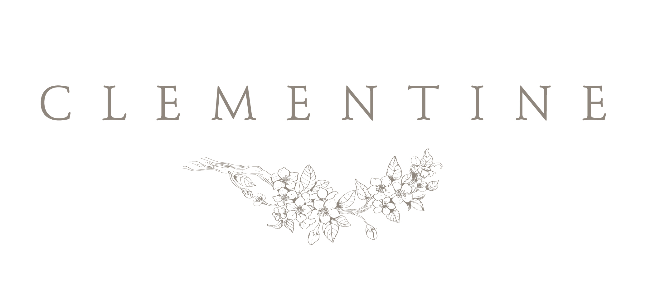 Clementine Botanical Art Floral