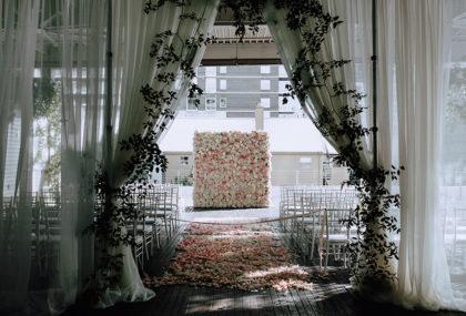 Brigitte Killen And Blake Gardners Industrial Austin Wedding At