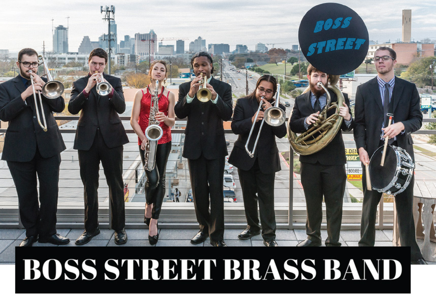 Austin Wedding Entertainment Spotlight: Boss Street Brass Band