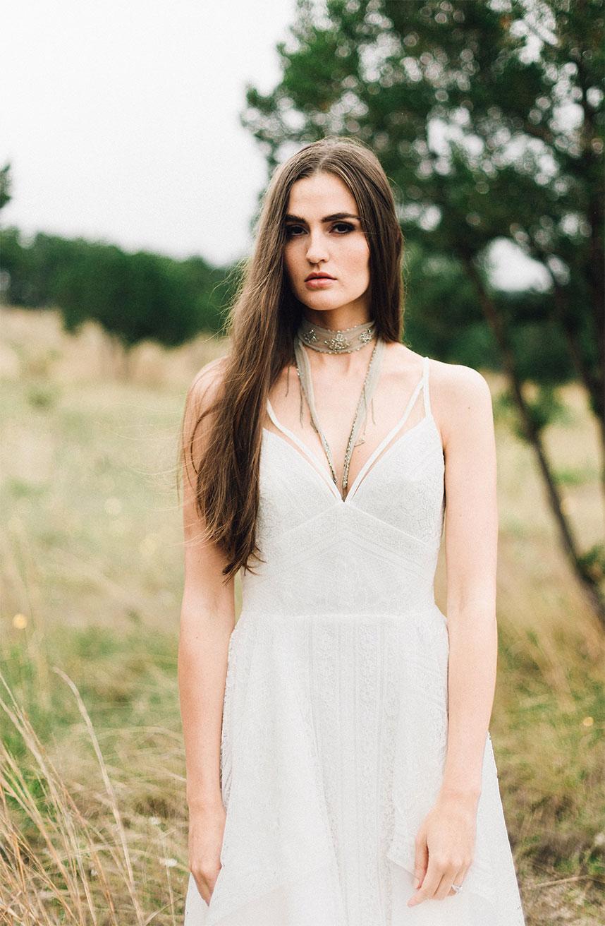Untamed A Wildly Romantic Wedding Fashion Editorial
