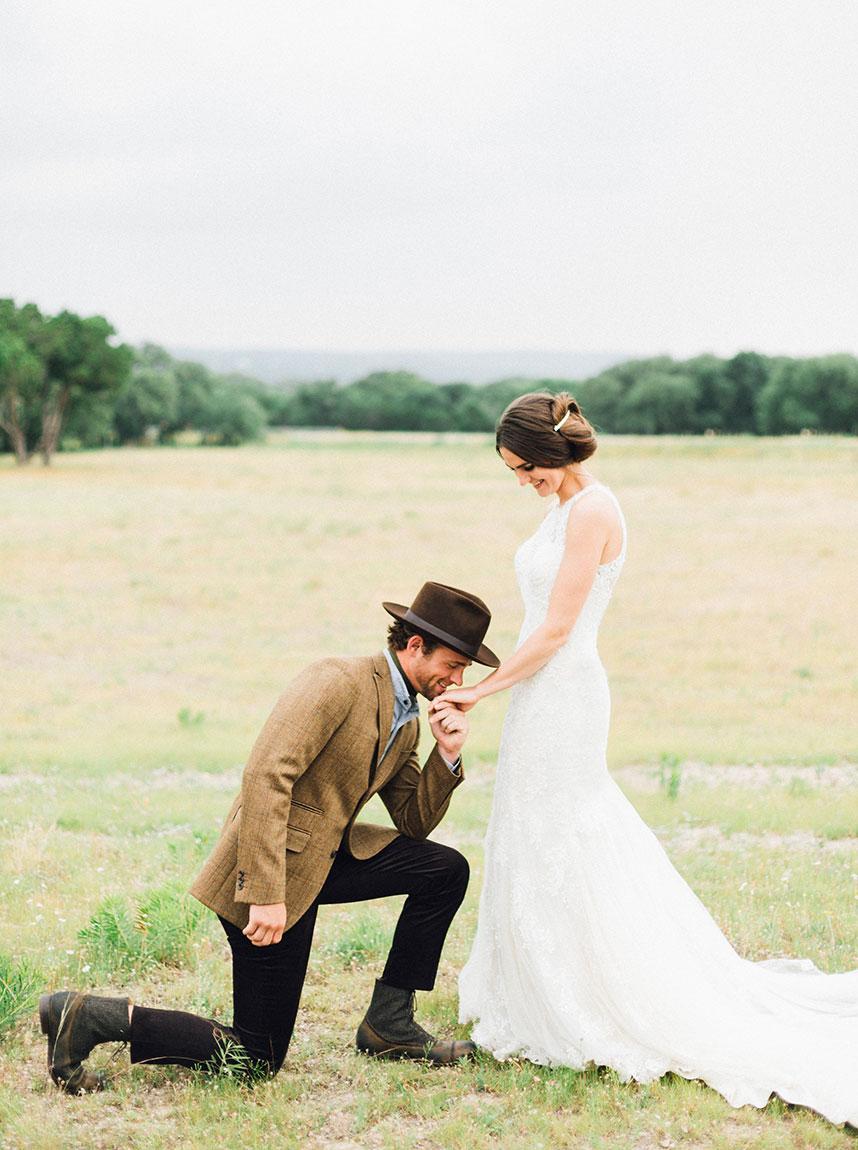 Untamed: A Wildly Romantic Wedding Fashion Editorial