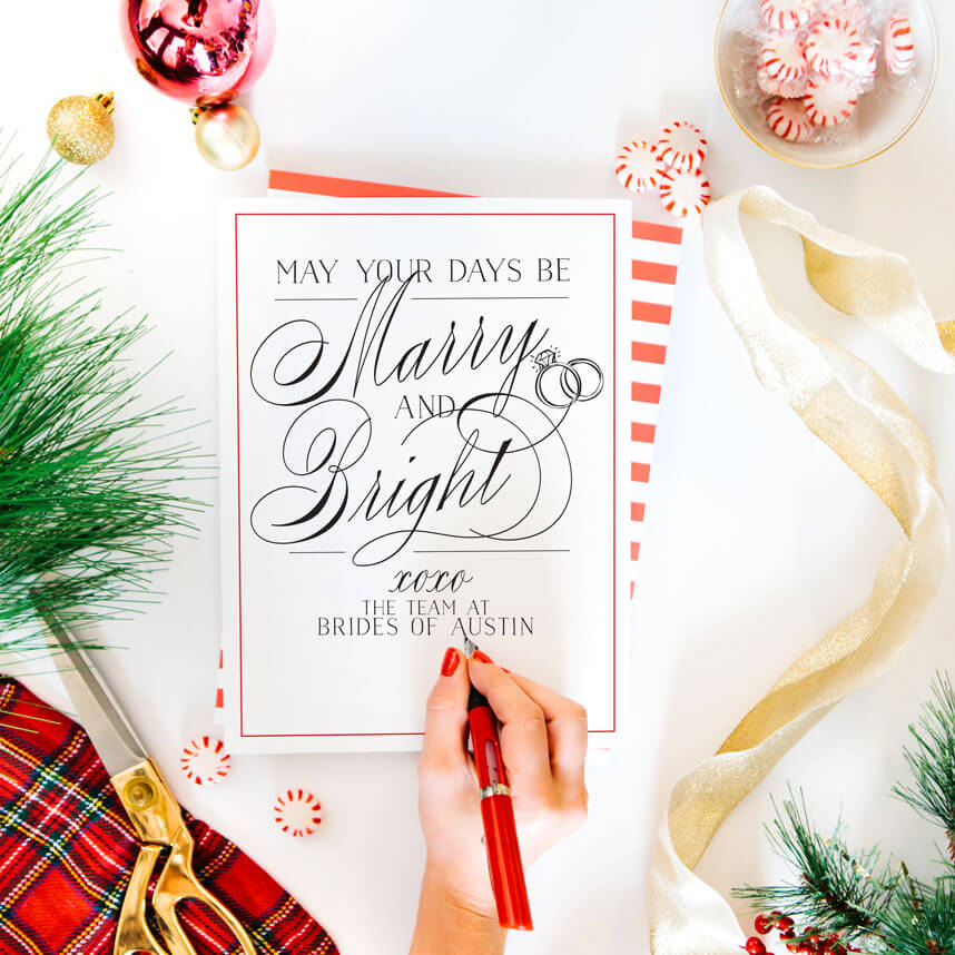 Brides of Austin Happy Holidays 2017