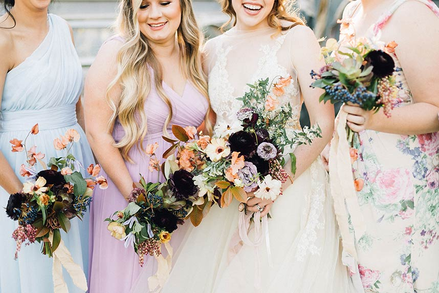 Whimsical weddings austin wedding magazine rose karnes and andrew gholsons whimsical romantic austin wedding from feather twine junglespirit Image collections