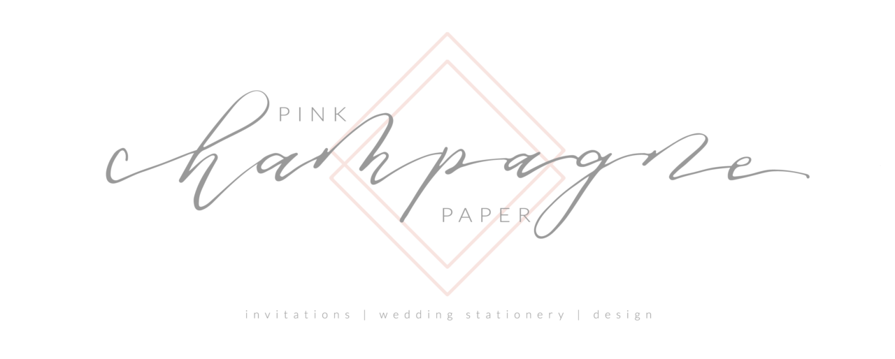 Pink Champagne Paper - Austin Wedding Invitations