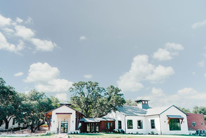 Eight Venues for an Austin Area Al Fresco Wedding