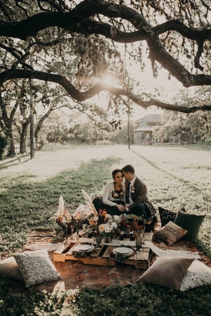 Bohemian Farm Wedding Inspiration from Trek and Bloom Photography