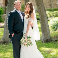Stephanie Hansen Weds Chris Fox Classic Austin Wedding at Westwood Country Club