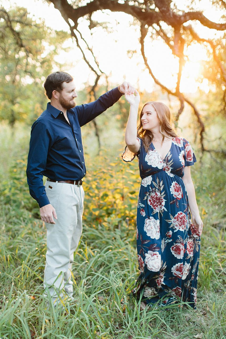 Casual Outdoor Engagement Session with Virginia Ann ...