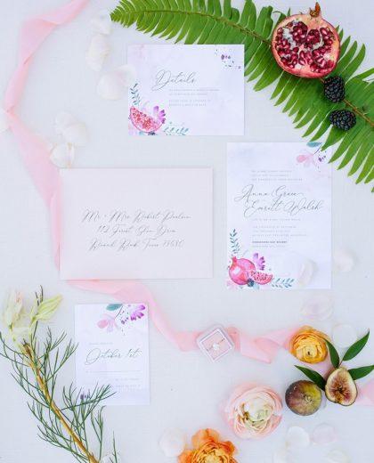 Meet the Mag Creatives: Austin Wedding Invitations