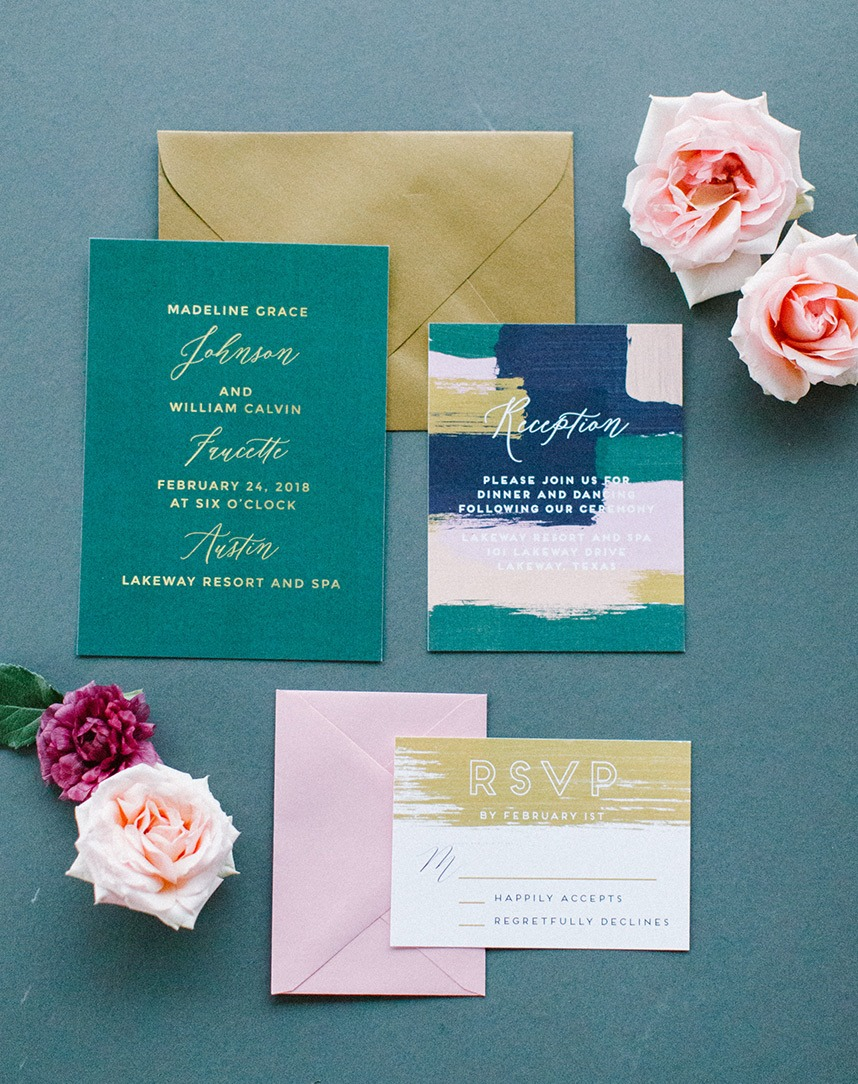 Meet the Mag Creatives: Austin Wedding Invitations