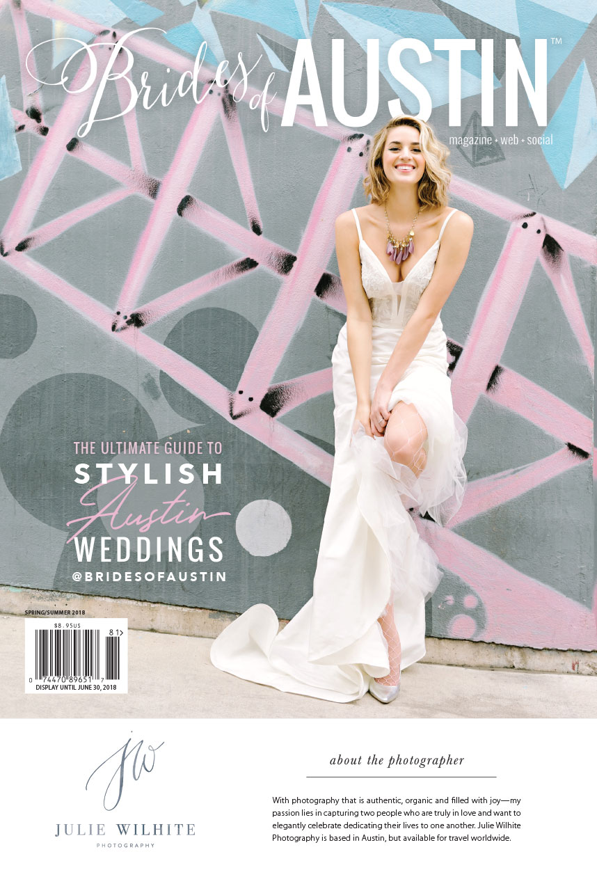 brides of austin spring/summer 2018 cover is revealed