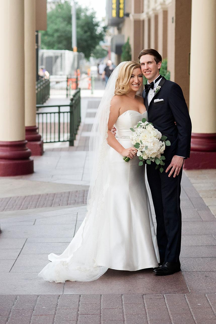 Cathryn Callahan Weds Chris Erickson Romantic Austin Ballroom Wedding