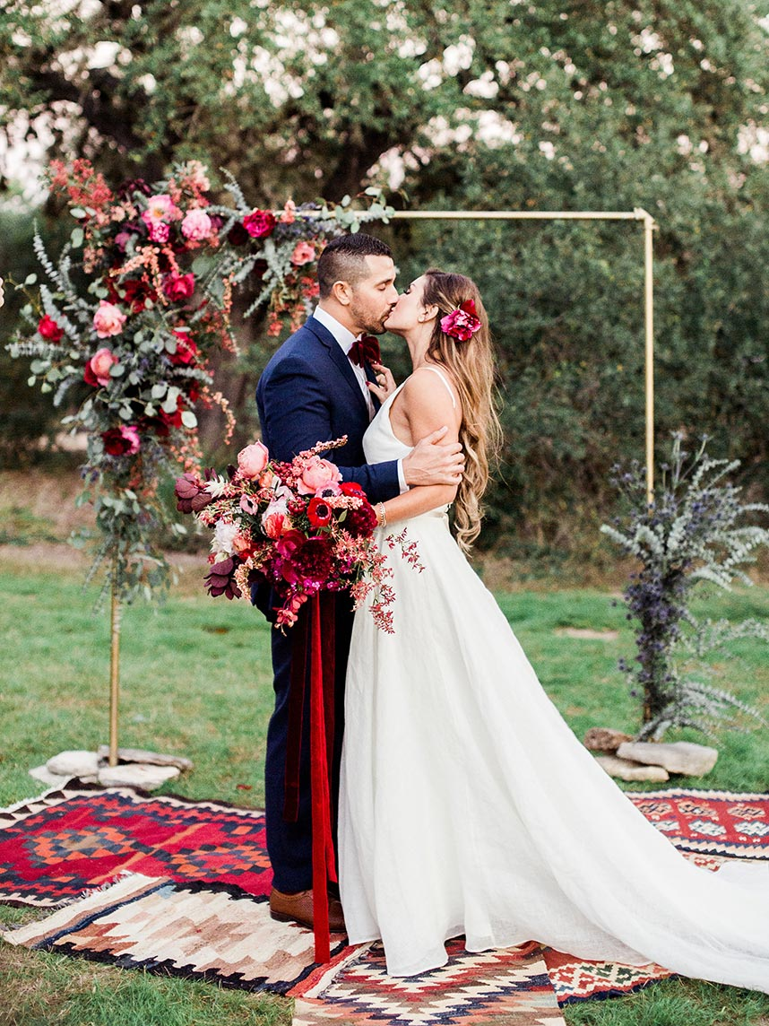 Mara Gonzalez Weds Anthony Gibson Lush Boho Autumn Wedding,Beach Wedding Dress Ideas Plus Size