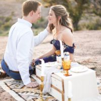 summer picnic styled shoot caitlin rose photography