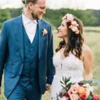 Jenna Verdicchio Weds Nick Rowland | Festival Inspired Boho Austin Wedding