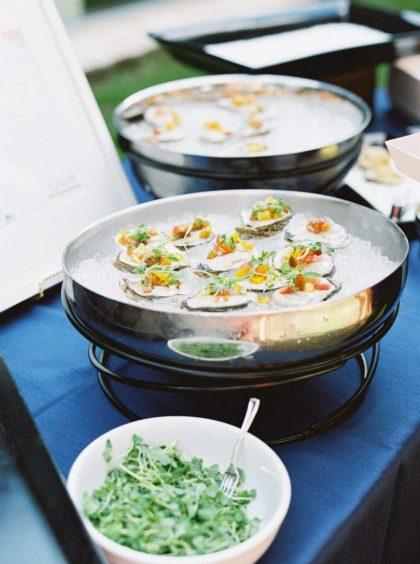austin wedding caterers lighter fare