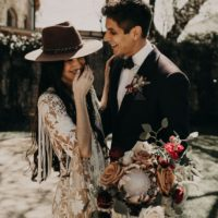 austin wedding florist wildly cultivated moody boho styled shoot
