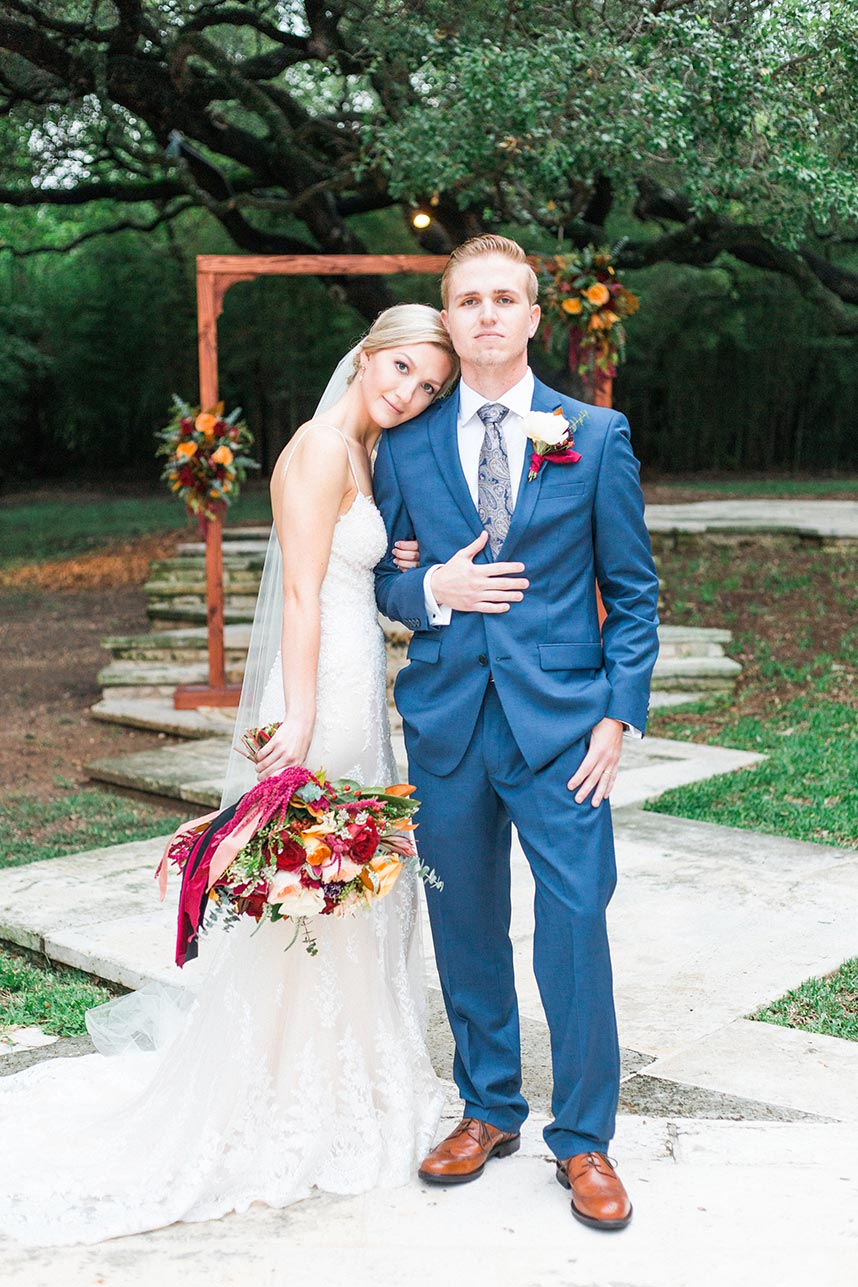 Sarah DeClerk Weds James Allmond Fall Austin Wedding Captured by Penelope L'Amore Photography