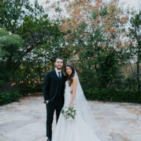 Haley Gooch Weds Michael Neid Outdoor Garden Austin Wedding