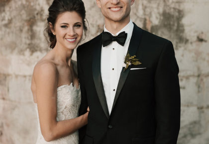 Emily Spencer Weds Derek Zieschang Moody Winter Wedding by Mayhar Design
